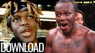KSI REACTS to Jake Paul Wanting to Fight Him Next  | The Download