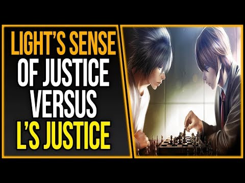 Explaining Different Perspectives of Light's & L's Sense of Justice | Death Note