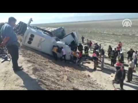 Konya'da Trafik Kazası: 10 Kişi öldü