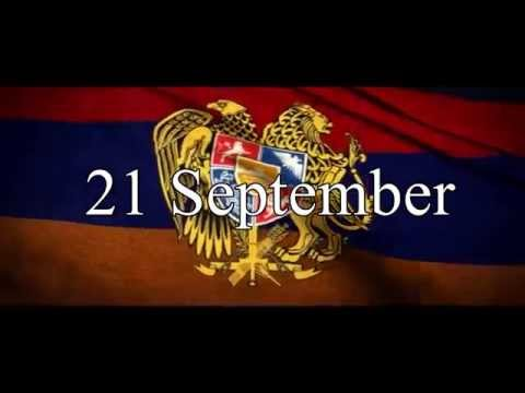 21 September, Independence Day In Armenia