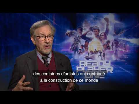 Interview de Steven Spielberg pour son film Ready Player One