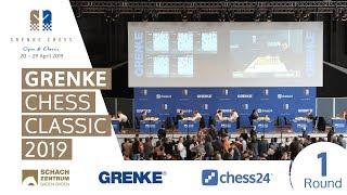 Round 1 - 2019 GRENKE Chess Classic