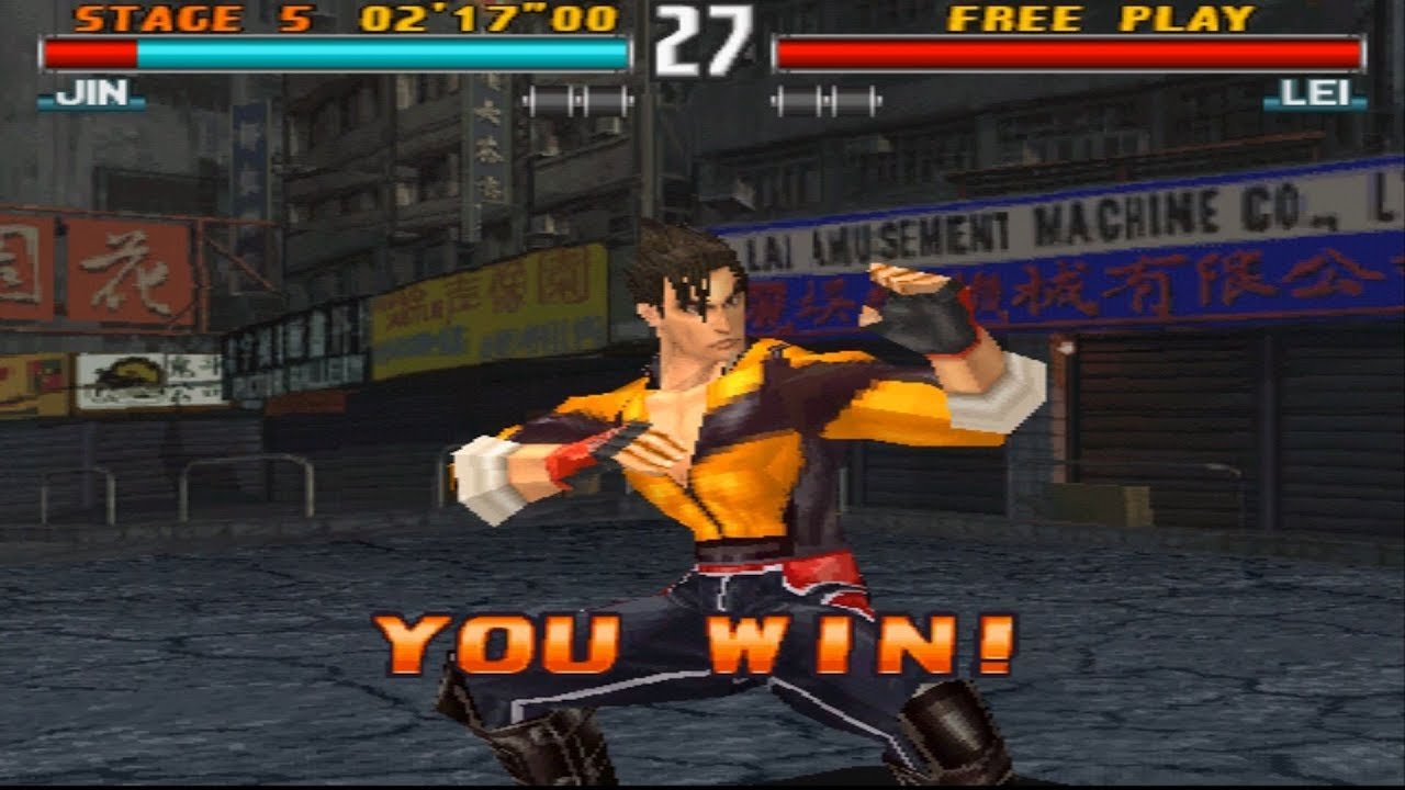 Tekken 3 Jin Story Ps1 1080p Hd Youtube