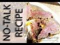 NOTALK VEGAN CORNED BEEF RED SEITAN RECIPIE V- roast beef  DELI MEAT | Connie's RAWsome kitchen