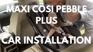 Maxi Cosi Pebble Plus 2WayFix Car Installation & Unboxing