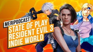MeriPodcast 13x11: State of Play, Resident Evil 3 y Nindies