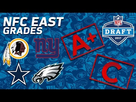 Cowboys, Giants, Redskins, & Eagles | NFC East 2017 NFL Draft Grades | NFL NOW