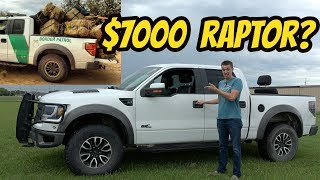I Bought the Cheapest Ford Raptor in the USA, Formerly Owned by the BORDER PATROL!!!