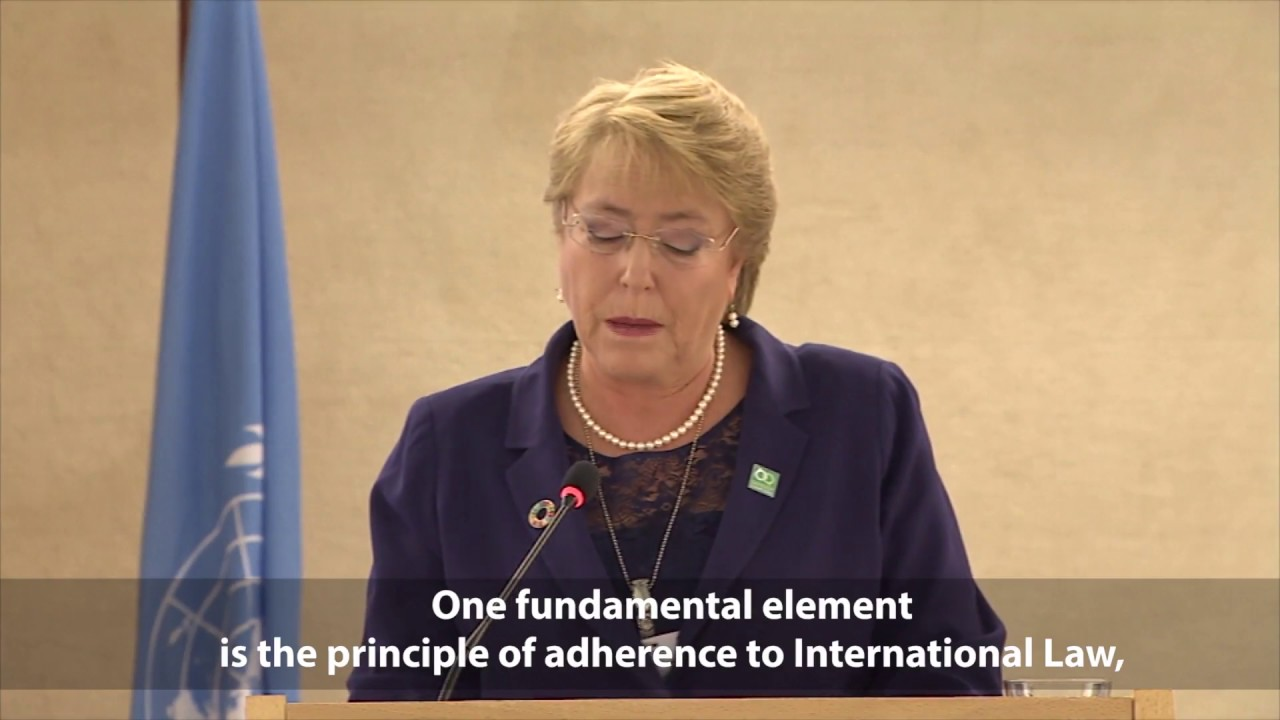 Human rights: the pillar that sustains core purpose of the UN says President of Chile
