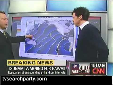 HAWAII TSUNAMI WARNING / CNN show why islands were in danger after Chile Earthquake
