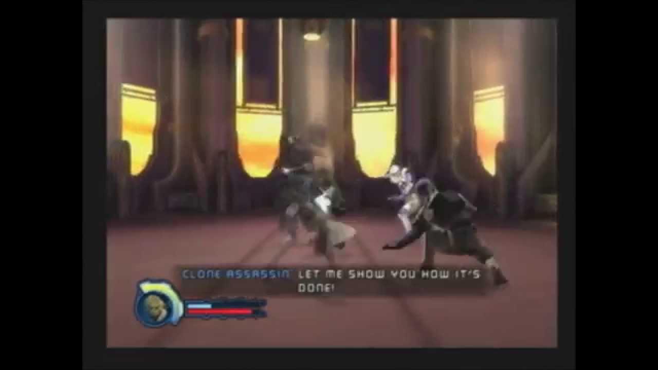 Star Wars Revenge Of The Sith Ps2 Walkthrough Bonus 4 Size Matters Not Youtube