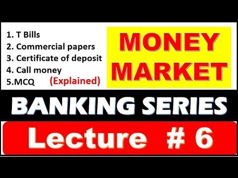 Money Market chapter #6 | Banking Awareness | T Bills , Certificate of deposit ,Call Money with MCQ