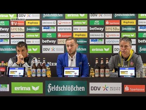 25. Spieltag | SGD - SVS | Pressekonferenz nach dem Spiel
