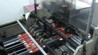 Carton Ejecting machine (Burger box making Machine)