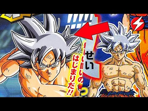 Goku's NEW FORM Revealed! Silver Hair Perfected Ultra Instinct!