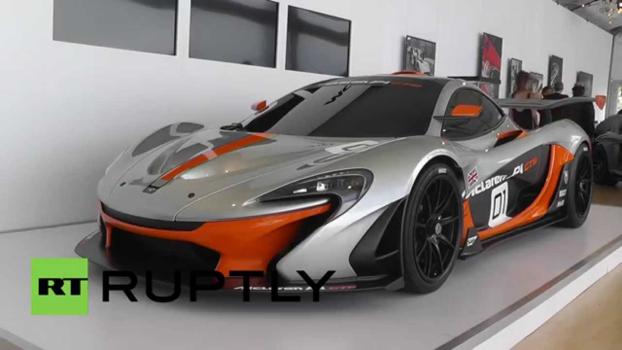 USA: Check Out McLarenu0027s All New Track Beast, The P1 GTR