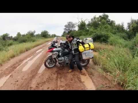 La Transchaco en moto III. Accidente en Paraguay. Diario de un Nómada