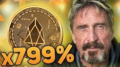 John McAfee Top 5 Altcoins That Will Moon In July 2018 (x100)