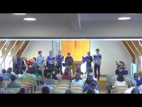 2018年6月17日アシェル男声合唱団