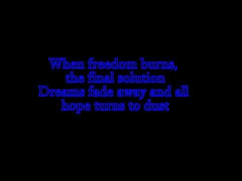 Sabaton The final Solution with lyrics
