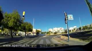 Дороги Испании, Аликанте   Санта Пола и Обратно в Alicante, УСКОРИЛ В 2 РАЗА, GO PRO 3