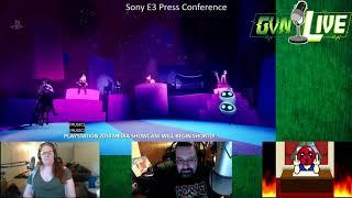 GVN Live - E3 2018 Live React Sony Press Conference