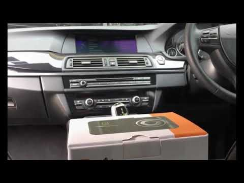 BMW in car entrainment upgraded with Nefu D3 front & rear DVR system
