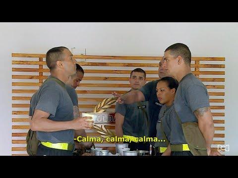 Soldados 1.0 - Así fue la pelea entre los soldados Estrada y Rodriguez