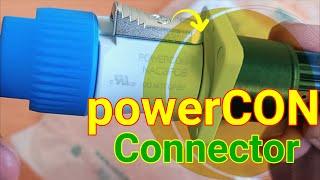powerCON Connector 20A /250V ac