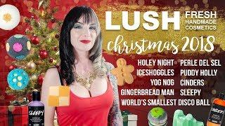 LUSH 2018 Christmas Demos + Reviews