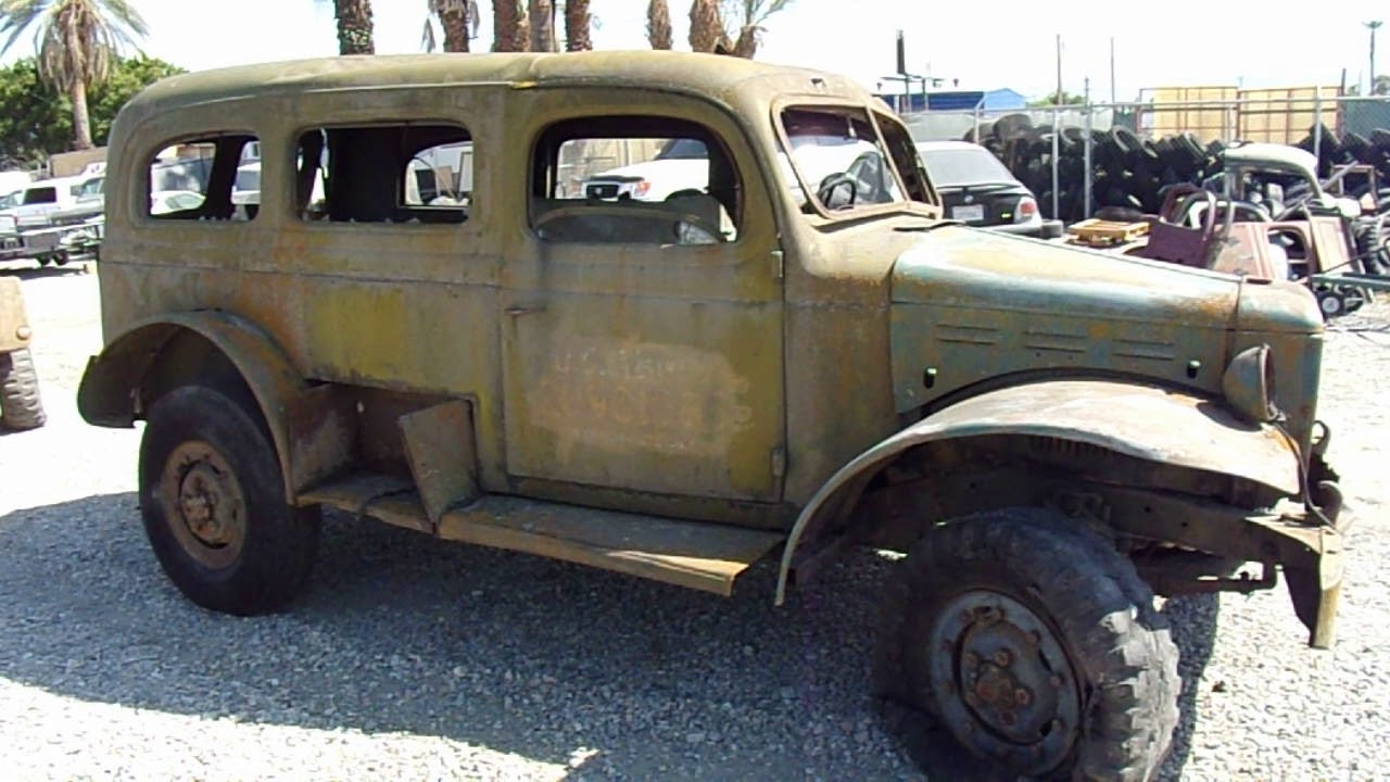 1942 Dodge Wc 53 Carryall Not Running For Sale 14 500 Youtube