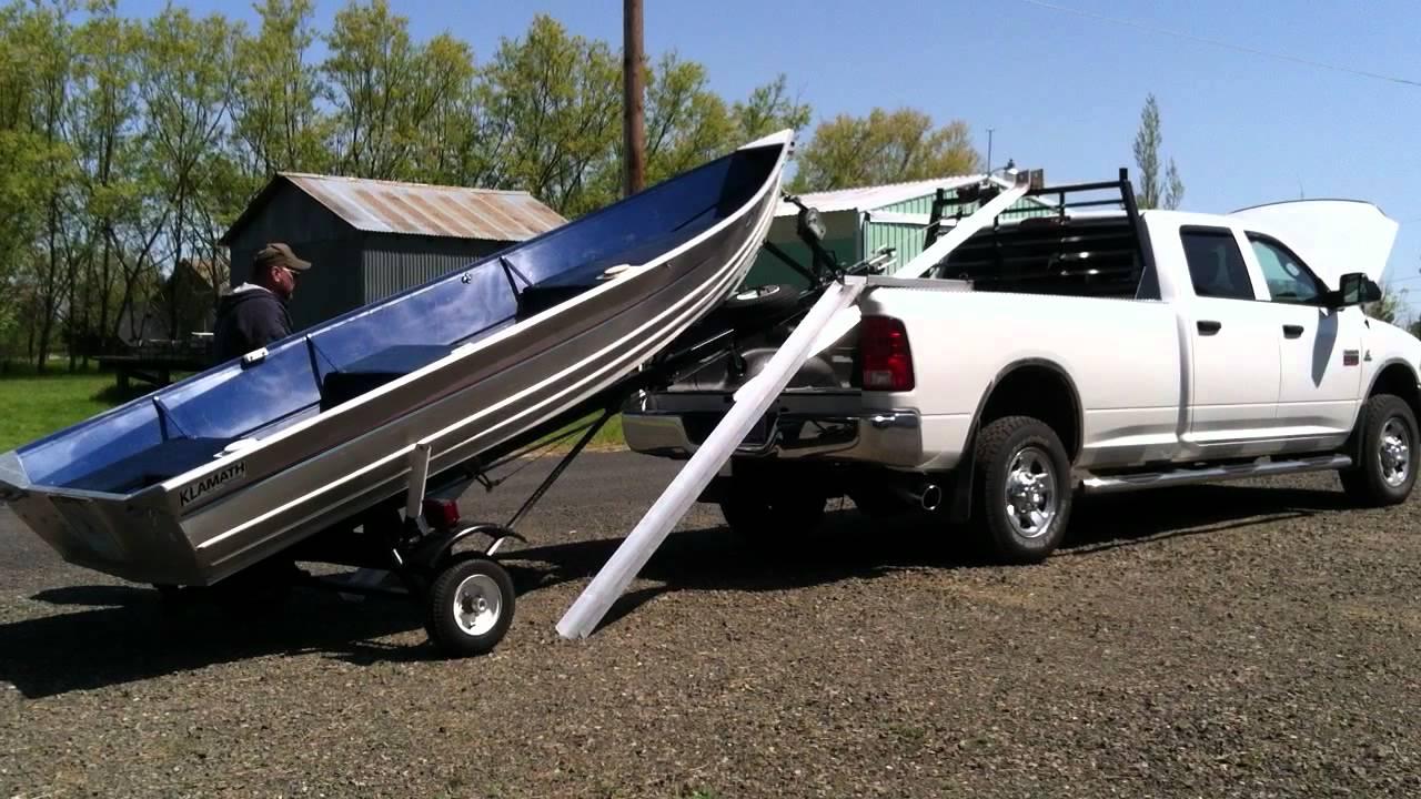 Homemade Kayak Racks For Trucks boat loader - YouTube