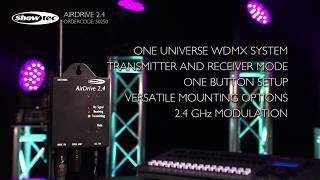Showtec AirDrive 2.4. Ordercode: 50250.