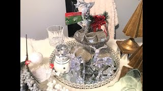 Christmas Decor Haul - Homesense, Salvation Army, Dollarama, Dollar Tree