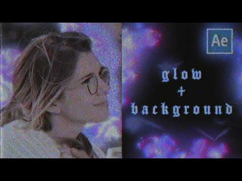 electric glow + color background (ib legallyko) | after effects tutorial
