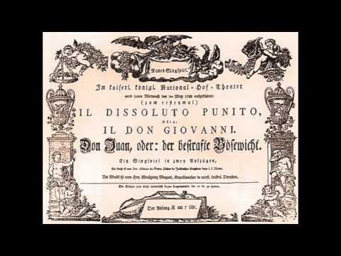 Mozart: Don Giovanni (Act 1)