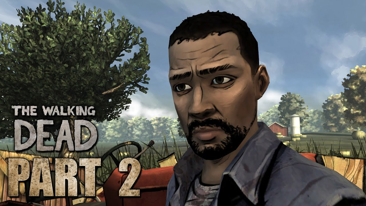 Part Douche The Walking Dead Episode 1 Gameplay Walkthrough Part 2 Larrys A Douche 360 Ps3 Pc Hd
