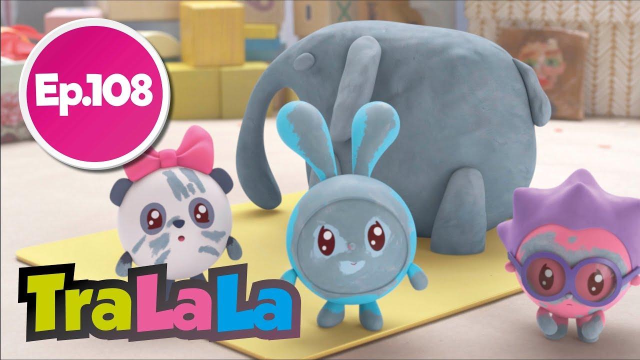 BabyRiki - Elefant (Ep. 108) Desene animate | TraLaLa