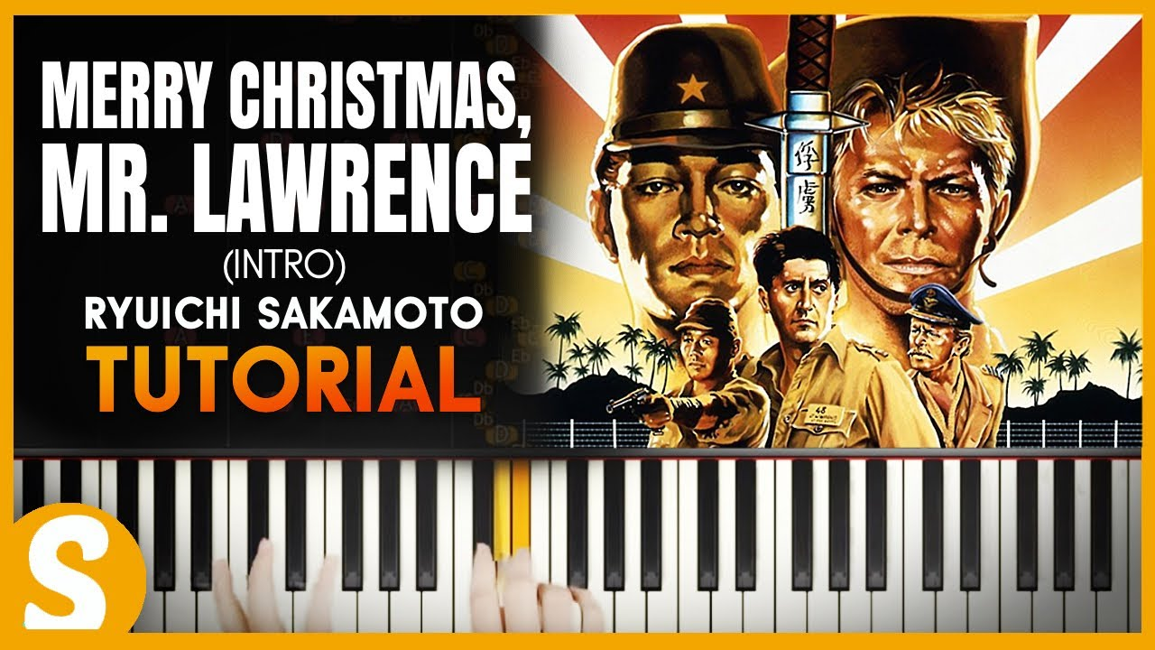 how to play merry christmas mr lawrence intro by ryuichi sakamoto smart classical piano - Merry Christmas Mr Lawrence Piano