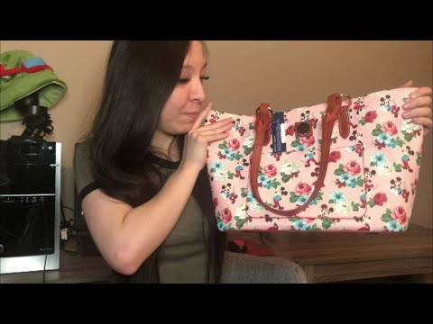 Floral Tote - Disney Dooney And Bourke