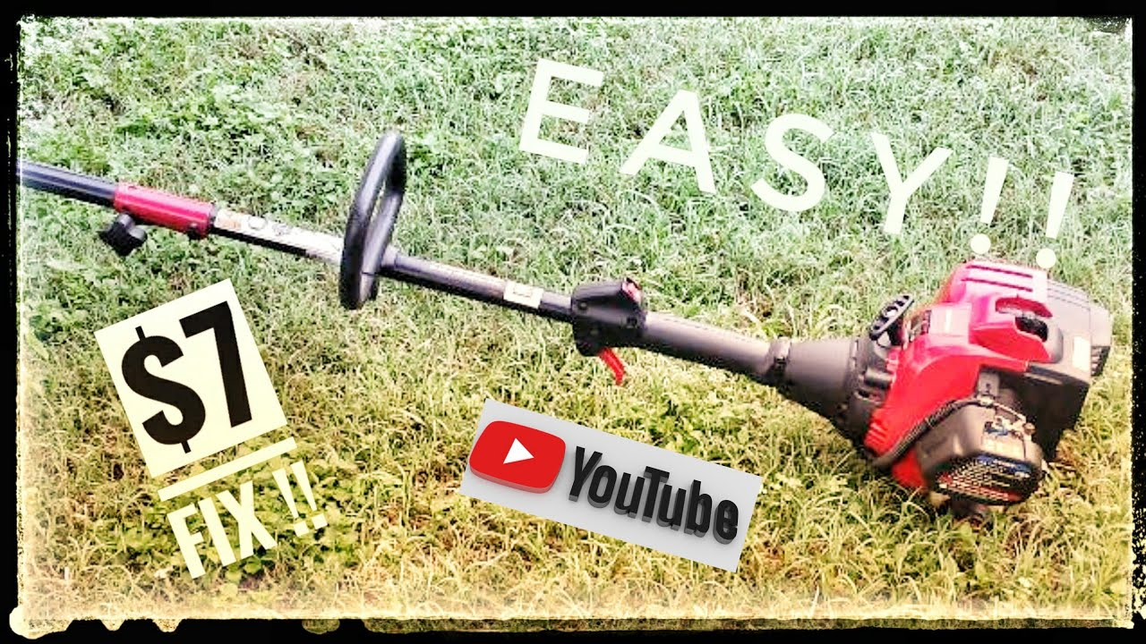 Troy bilt weed eater carb fix!! Easy $7 fix !!!