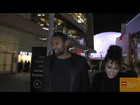 Ron Artest aka Metta World Peace talks about the LA Lakers outside the Uncut Gems premiere
