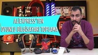 Aliexpress'ten Oyuncu Bilgisayarı Toplama Rehberi - Ucuz NVIDIA GTX 1070 Ekran Kartlı PC