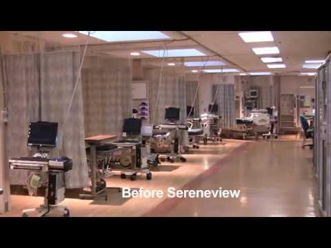Sharp Memorial Hospital SPA Curtains - YouTube