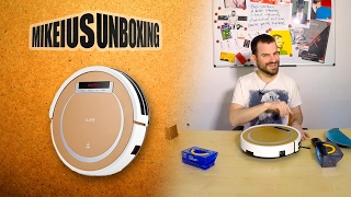 ILIFE X5 Smart Robotic Vacuum Cleaner  - Mikeius Unboxing