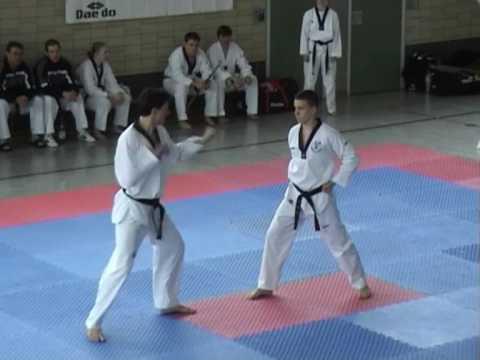 Taekwondo Prüfung Sergio Albanese 6.Dan - Ilbo Tae...