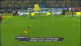 america vs cruz azul FINAL LIGA MX 2013(resumen tv azteca y su jesus crown)
