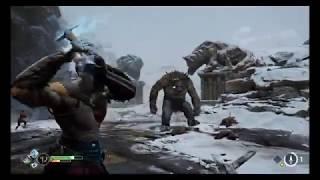 God of War - epickie starcie z Ogrem!