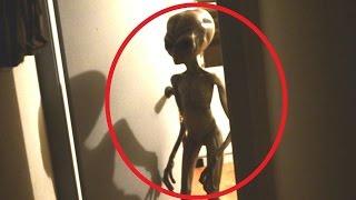 5 настоящих пришельцев попали на  камеру!