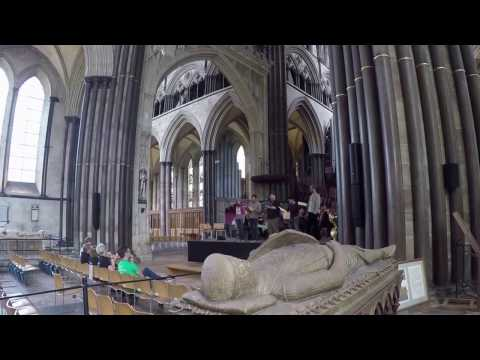 Salisbury Cathedral Choir Practice